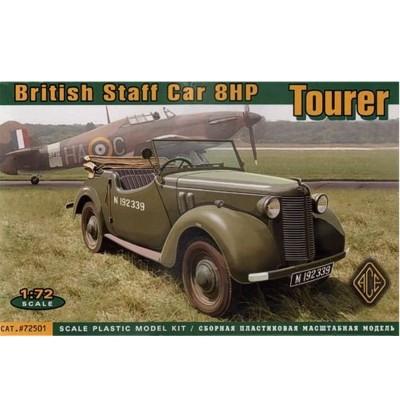 Maquette véhicule militaire : British Staff Car 8 HP - Ace-ACE72501