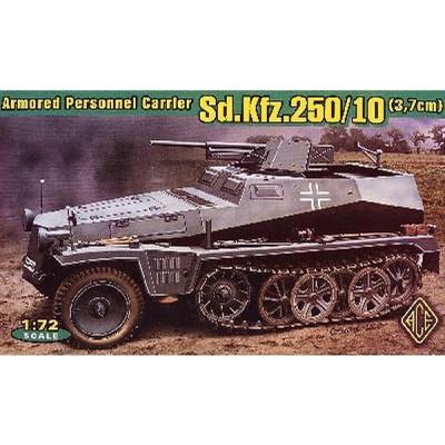 Maquette Sd.Kfz.250/10 Leichter Schutzenpanzerwagen (3.7cm) - Ace-ACE72253