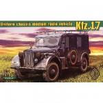 Maquette véhicule radio allemand Kfz.17