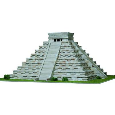 Maquette en céramique : Pyramide de Kukulcan, Mexique - Aedes-1270