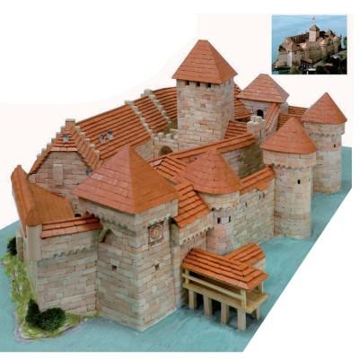 Maquette en céramique : Château de Chillon, Veytaux, Suisse - Aedes-1012