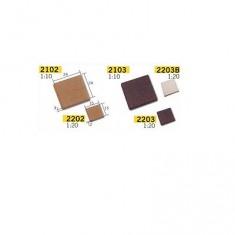 Maquette en céramique - Accessoires - 150 carreaux blancs : 1/20