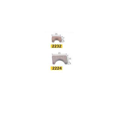 Maquette en céramique : Accessoires : 25 arcs : Grand modèle - Aedes-2224