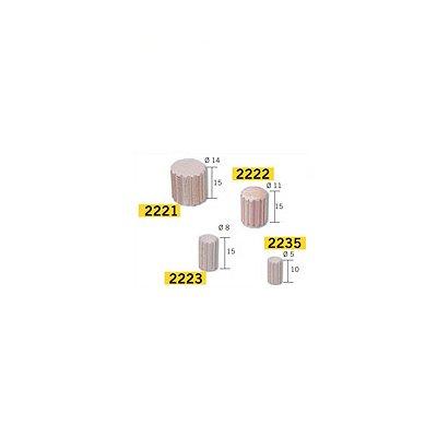 Maquette en céramique : Accessoires : 50 pièces pour colonne grecque : Diamètre 5 mm - Aedes-2235