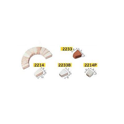 Maquette en céramique : Accessoires : 50 segments d'arcade : Petit modèle - Aedes-2214P