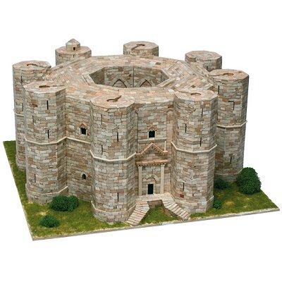 Maquette en céramique : Castel del Monte, Andria, Italie - Aedes-1008