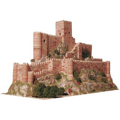 Maquette en céramique : Château de Almansa, Espagne - Aedes-1006