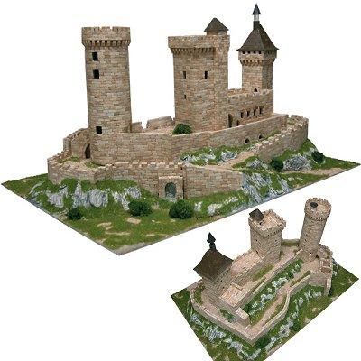 maquette chateau fort 1 72. Black Bedroom Furniture Sets. Home Design Ideas