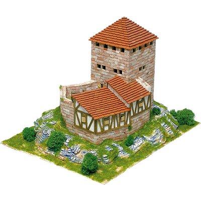 Maquette en céramique : Château de Grenchen, Suisse alémanique - Aedes-1052