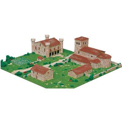 Maquette en céramique : Diorama : Ensemble cantabre, Argomilla, Espagne - Aedes-1458