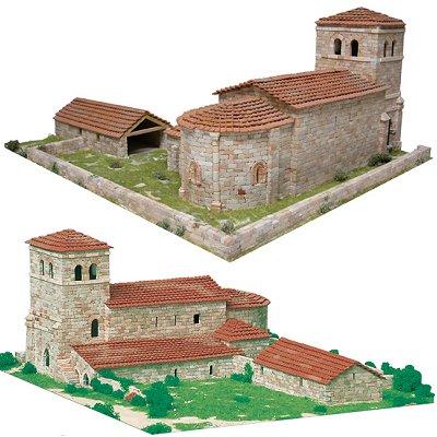 Maquette en céramique : Eglise de San Andrés, Argomilla, Espagne - Aedes-1109