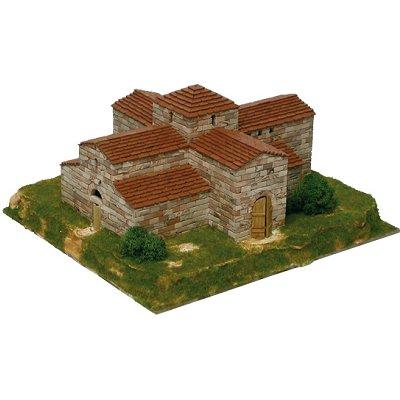 Maquette en céramique : Eglise de San Pedro de la Nave, Zamora, Espagne - Aedes-1102