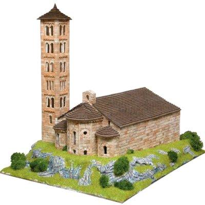 Maquette en céramique : Eglise de Sant Climent de Taüll, Espagne - Aedes-1104