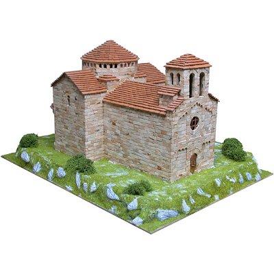 Maquette en céramique : Eglise de Sant Jaume de Frontanyà, Espagne - Aedes-1101