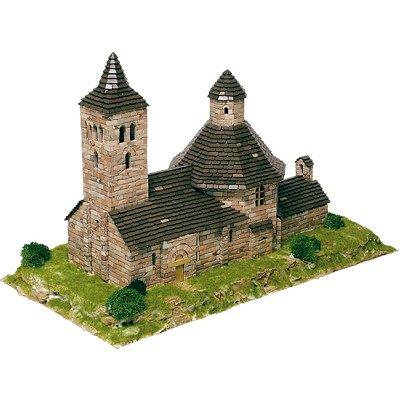 Maquette en céramique : Eglise de Vilac, Espagne - Aedes-1103