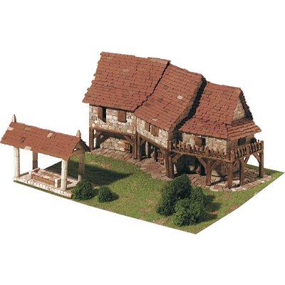 Maquette en  céramique : Maisons rurales - Aedes-1412