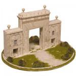 Maquette en céramique : Puerta del Carmen, Saragosse, Espagne