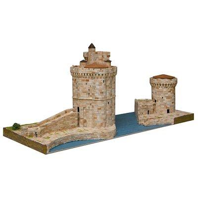 Maquette en céramique : Tours de la Rochelle, France - Aedes-1267