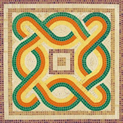 Mosaïque en céramique émaillée : Forme géométrique 3 - Aedes-5512