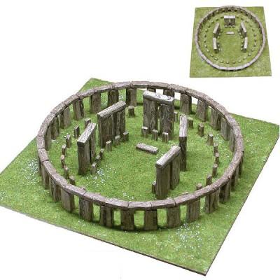 Maquette en céramique : Stonehenge, Angleterre - Aedes-1268