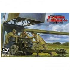 Maquette 1/35 : Canon antichars Ordnance britannique Mk.4 QF 6 pounder