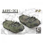 Maquette 1/35 : Engin blindé amphibie US MC AAVC-7C1