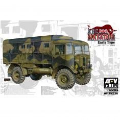 Maquette camion 1/35 : Camion britannique AEC matador