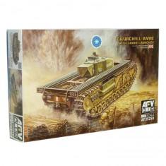 Maquette Char : Churchill Avre avec Snake Launcher