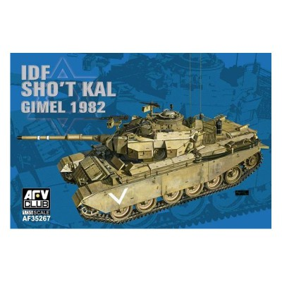 Maquette Char : IDF Sho't Kal Gimel avec Blazer explosive réctive amour - AFVclub-AF35267