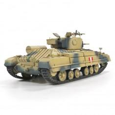 Maquette char 1/35 : Valentine Mk. III avec Rotailler