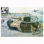 Maquette char CHURCHILL Mk.3 Operation Jubilee Dieppe 1942 Chenilles maillons
