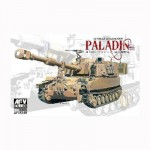 Maquette char US M109 A6 HOWITZER PALADIN