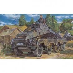 Maquette véhicule blindé sur roues allemand Sd.Kfz.231
