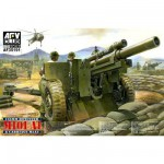 Maquette US 105mm HOWITZER M101 A1 avec carriage M2 A2