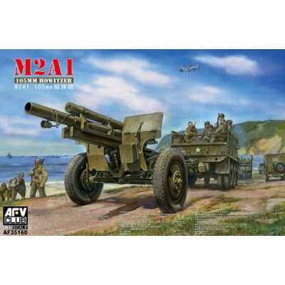 Maquette M2A1 105mm Howitzer - AFVclub-AF35160