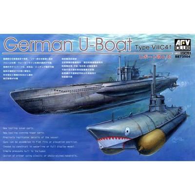 Maquette Sous-marin allemand U-Boat Type VII C/41 - AFVclub-AF73504