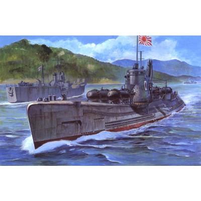 Maquette Sous-marin japonais I-58 avec torpilles suicide - AFVclub-AF73508-SE73508