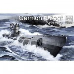 Maquette Sous-marin allemand U-Boat Type VII C