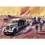 Maquette 88 mm Gun & Tractor