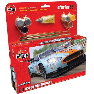 Maquette voiture : Aston Martin DBR9 Gulf: Starter set - Airfix-50110