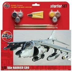 Maquette avion: Starter Set: BAe Harrier GR9