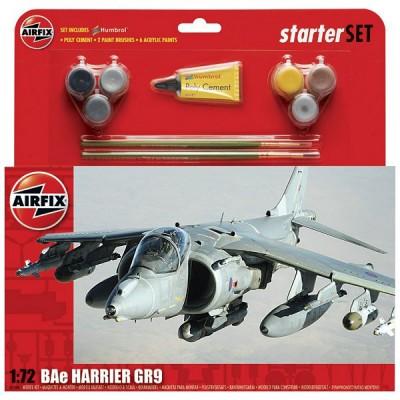 Maquette avion: Starter Set: BAe Harrier GR9 - Airfix-55300