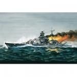 Maquette bateau: Bismarck