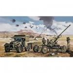 Maquette Canon: Bofors 40mm Gun and Tractor