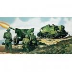 Maquette Char: Bren Gun Carrier & Canon anti-Tank 6pdr