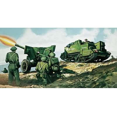 Maquette Char: Bren Gun Carrier & Canon anti-Tank 6pdr  - Airfix-01309