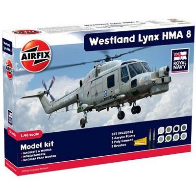 Maquette hélicoptère: Model Kit: Westland Lynx HMA.8 - Airfix-50112