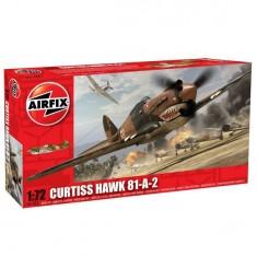Maquette avion: Curtiss Hawk 81-A-2