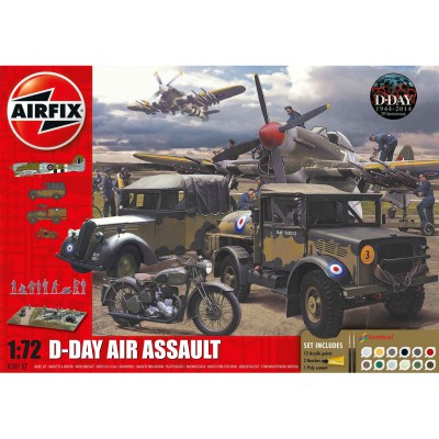Diorama 1/72 : D-Day The Air Assault Gift Set - Airfix-50157
