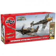 Maquettes avions: Dogfight Doubles: Spitfire 1A et Messerchmitt Bf109E